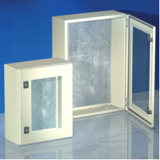 Навесной шкаф CE, с прозрачной дверью, 700 x 500 x 200мм, IP55 | R5CEX0752 | DKC