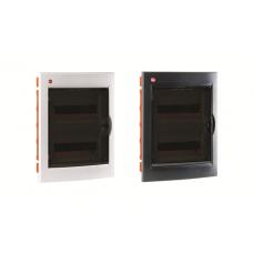Щиток встраиваемый с дверцей 24 мод. IP 41 белый | 81524 | DKC