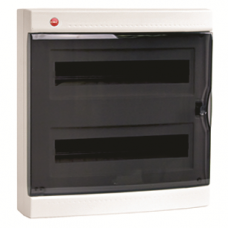 Щиток настен. с дверцей 36(2X18) мод.,IP41, белый   84636   DKC