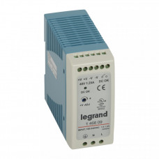 1-фазный Импульсный источник питания 48В 60Вт 1,25A | 146609 | Legrand