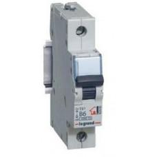 Выключатель автоматический однополюсный TX3 6000 63А C 10кА | 403922 | Legrand