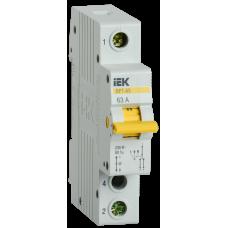 Выключатель нагрузки (рубильник) трехпозиционный ВРТ-63 1п 63А | MPR10-1-063 | IEK