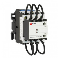 Контактор для конденсатора КМЭК 25квар 400В 2NО+1NC EKF PROxima | ctrk-s-63-25-400 | EKF
