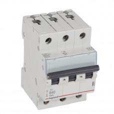 Выключатель автоматический трехполюсный TX3 6000 40А B 10кА   403892   Legrand