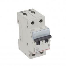 Выключатель автоматический двухполюсный TX3 6000 20А B 10кА   403875   Legrand