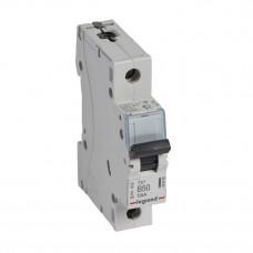Выключатель автоматический однополюсный TX3 6000 50А B 10кА   403865   Legrand