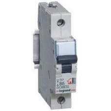 Выключатель автоматический однополюсный TX3 6000 25А C 10кА | 403918 | Legrand