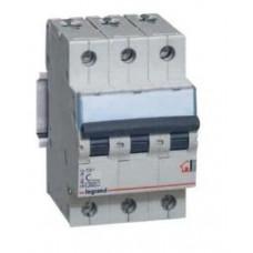 Выключатель автоматический трехполюсный TX3 6000 32А C 10кА | 403947 | Legrand