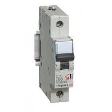 Выключатель автоматический однополюсный TX3 6000 10A C 6кА   404026   Legrand
