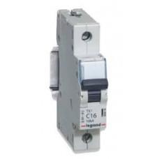 Выключатель автоматический однополюсный TX3 6000 6А C 10кА | 403913 | Legrand