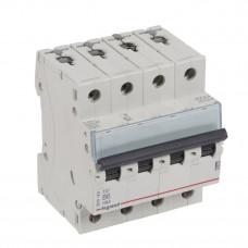 Выключатель автоматический четырехполюсный TX3 6000 6А B 10кА   403899   Legrand