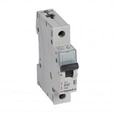 Выключатель автоматический однополюсный TX3 6000 40А B 10кА   403864   Legrand