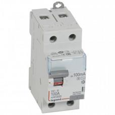 Выключатель дифференциальный (УЗО) DX3-ID 2п 100А 100мА тип AC-S | 411537 | Legrand