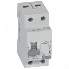 Выключатель дифференциальный (УЗО) RX3 2п 40А 300мА тип AC | 402033 | Legrand