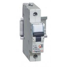 Выключатель автоматический однополюсный TX3 6000 50А B 6кА | 403977 | Legrand
