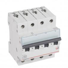 Выключатель автоматический четырехполюсный TX3 6000 50А B 6кА | 404019 | Legrand