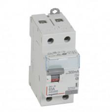Выключатель дифференциальный (УЗО) DX3-ID 2п 63А 300мА тип A | 411571 | Legrand