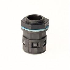 Монтажный комплект муфта труба-коробка DN 17 мм, М25х1,5, полиамид, цвет черный   PACM17M25N   DKC