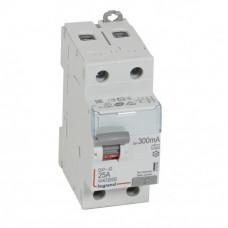 Выключатель дифференциальный (УЗО) DX3-ID 2п 25А 300мА тип A | 411569 | Legrand