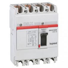 DRX125 термомагнитный 15A 4П 10KA | 027010 | Legrand