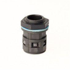 Монтажный комплект муфта труба-коробка DN 23 мм, М25х1,5, полиамид, цвет черный   PACM23M25N   DKC