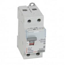 Выключатель дифференциальный (УЗО) DX3-ID 2п 63А 30мА тип HPI | 411592 | Legrand