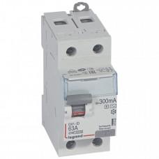 Выключатель дифференциальный (УЗО) DX3-ID 2п 63А 300мА тип AC-S | 411543 | Legrand