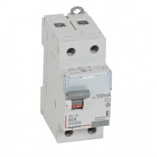 Выключатель дифференциальный (УЗО) DX3-ID 2п 80А 100мА тип AC | 411517 | Legrand