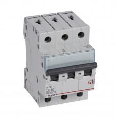 Выключатель автоматический трехполюсный TX3 6000 10А B 6кА | 403998 | Legrand