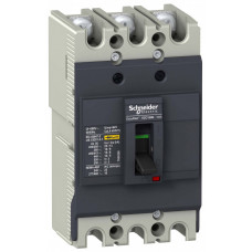 АВТ. ВЫКЛ. EZC100 18 кА/380В 3П3T 100 A   EZC100N3100   Schneider Electric