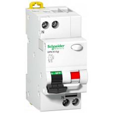 Выключатель автоматический дифференциальный DPN N VIGI 1п+N 10А C 30мА тип AC   A9N19663   Schneider Electric