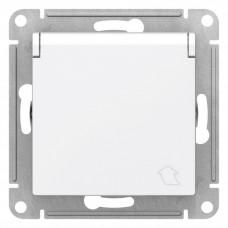 AtlasDesign Aqua Белый Розетка с/з со шторками с крышкой, 16А, IP44, механизм | ATN440146 | Schneider Electric