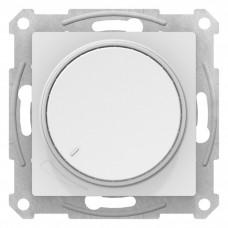 AtlasDesign Белый Светорегулятор (диммер) поворотно-нажимной, 630Вт, мех. | ATN000136 | Schneider Electric