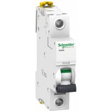 Выключатель автоматический однополюсный iC60N 25А C 6кА | A9F79125 | Schneider Electric