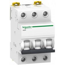 Выключатель автоматический трехполюсный iK60 10А C 6кА | A9K24310 | Schneider Electric