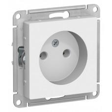 AtlasDesign Белый Розетка б/з, 16А, механизм | ATN000141 | Schneider Electric