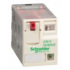 РЕЛЕ 4 CO СВЕТОДИОД 230В ПЕРЕМ ТОКА RXM4AB2P7   RXM4AB2P7   Schneider Electric