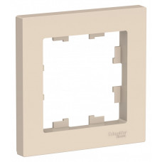 AtlasDesign Бежевый Рамка 1-ая | ATN000201 | Schneider Electric