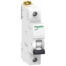 Выключатель автоматический однополюсный iK60 6А C 6кА | A9K24106 | Schneider Electric