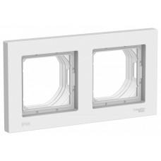 AtlasDesign Aqua Белый Рамка 2-ая IP44 | ATN440102 | Schneider Electric