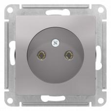 AtlasDesign Алюминий Розетка б/з, 16А, механизм | ATN000341 | Schneider Electric