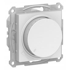 AtlasDesign Белый Светорегулятор (диммер) поворотно-нажимной, 315Вт, мех. | ATN000134 | Schneider Electric