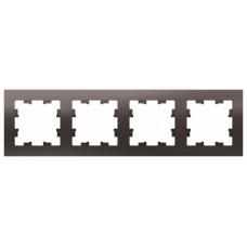 AtlasDesign Мокко Рамка 4-ая, универсальная | ATN000604 | Schneider Electric