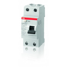 Выключатель дифференциальный (УЗО) FH202AC-40/0.03 40А 30мА | 2CSF202004R1400 | ABB