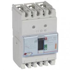 Автоматический выключатель DPX3 160 - термомагнитный расцепитель - 25 кА - 400 В~ - 3П - 63 А   420043   Legrand