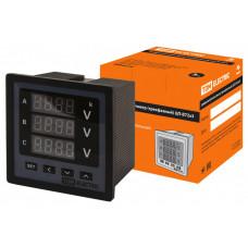 Цифровой вольтметр ЦП-В72х3 0-999кВ-0,5 (трехфазный)   SQ1102-0506   TDM