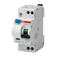 Выключатель автоматический дифференциальный DSH941R 1п+N 16А C 30мА тип AC   2CSR145001R1164   ABB