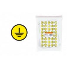 Символ Заземление 20х20мм | SQ0817-0019 | TDM