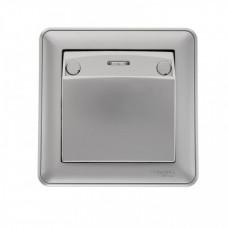 Wessen 59 Матовый хром Выключатель карточный 16А (в сборе) | VS616-051-58 | Schneider Electric