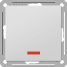 Wessen 59 Сл. кость Выключатель 1-клавишный 2-х полюсной с подсветкой 16А (сх.2)   VS216-150-2-86   Schneider Electric